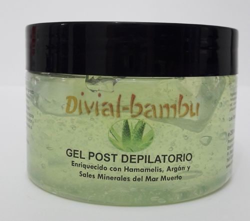 Gel post depilatorio 250ml